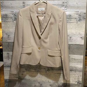 BRAND NEW Calvin Klein Khaki Blazer - WITH TAGS!